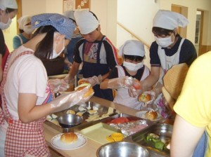 08月15日昼食-調理実習