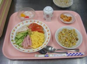 08月17日昼食-冷やし中華