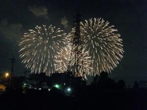 PL花火大会を鑑賞☆!!