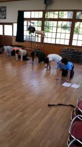 ウォ〜キング プロジェクト〜スタッフ!体力作りへの道〜