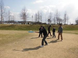 野球したり、石川河川敷公園で伸び伸びと〜児童部〜