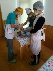 ジャガイモの収穫そして、、〜児童部ニュース〜