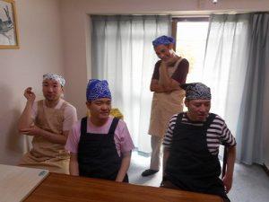 追手門大学大学院の実習生のみなさんとと調理♪〜成人部〜