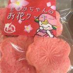 大人気♪桃のフレーバー入り? ももかの桃のお花クッキーです( *´艸`)