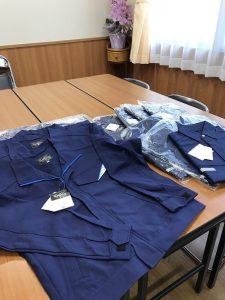 西日本高速 様より寄贈の作業服をいただきました👕