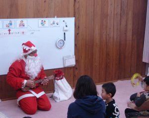 今日のピーチサークル⑲~12月24日、25日 クリスマス会~