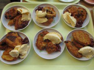 第二成人部 調理実習「サツマイモでおやつ作り!!」