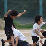富田林支援学運動会 小中学部