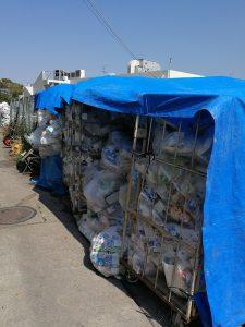 『リサイクル作業』